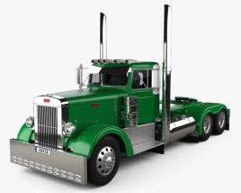Peterbilt 351 Tractor Truck 1954 3D model