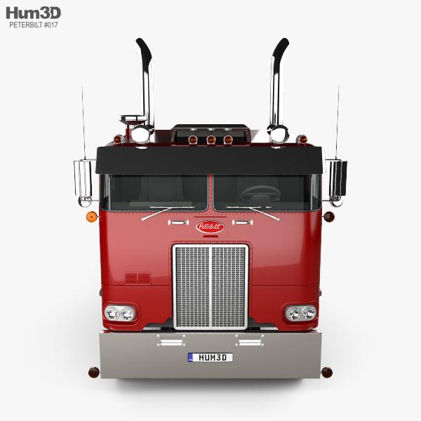 Peterbilt 352 Tractor Truck 1969 3D model