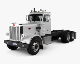 Peterbilt 359 Chassis Truck 1967 3D model