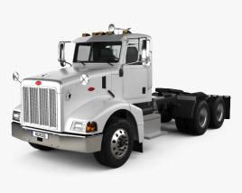 Peterbilt 385 Day Cab Tractor Truck 2007 3D model