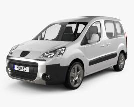 Peugeot Partner Tepee 2011 3D model