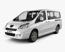 Peugeot Expert II combi L2H1 2011 3D model