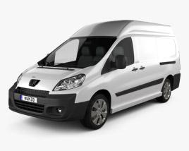 Peugeot Expert II Panel Van L2H2 2011 3D model