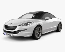 Peugeot RCZ coupe 2013 3D model
