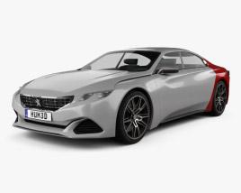 Peugeot Exalt 2014 3D model