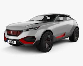 Peugeot Quartz 2015 3D model