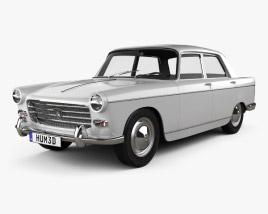 Peugeot 404 Berline 1960 3D model