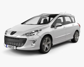 Peugeot 308 SW 2008 3D model