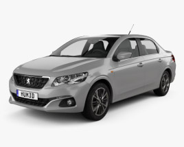 Peugeot 301 2017 3D model