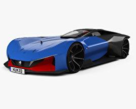 Peugeot L500 R Hybrid 2017 3D model