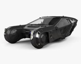 Peugeot Blade Runner 2049 Spinner 2018 3D model