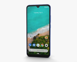 Xiaomi Mi A3 Not just Blue 3D model