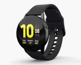Samsung Galaxy Watch Active 2 40mm Aluminium Aqua Black 3D model