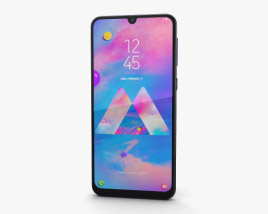 Samsung Galaxy M30 Black 3D model