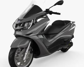 Piaggio X10 350 2013 3D model