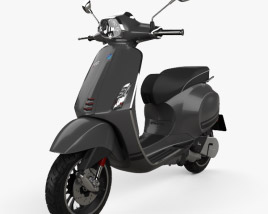 Piaggio Vespa Sprint 2016 3D model
