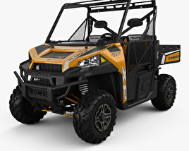 Polaris Ranger XP 900 2013 3D model
