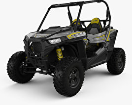 Polaris RZR S 900 2017 3D model