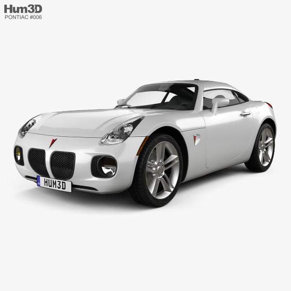 Pontiac Solstice Coupe 2009 Model
