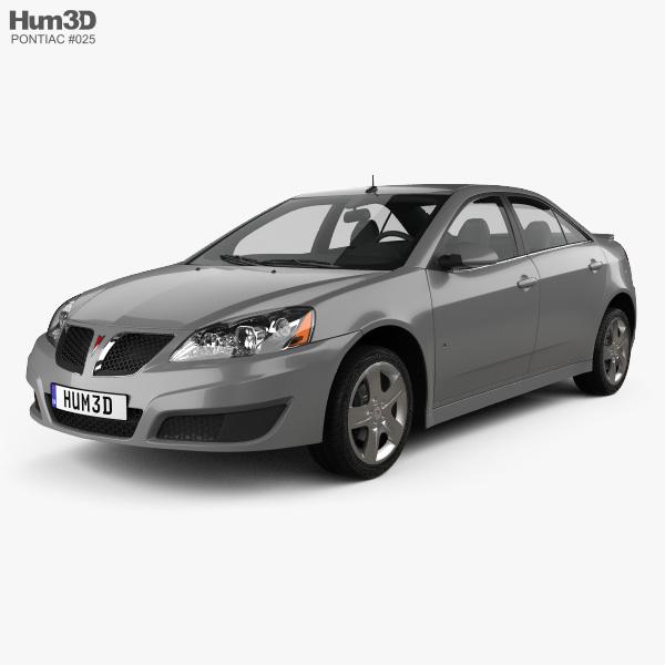 pontiac g6 2004 3d model vehicles on hum3d. Black Bedroom Furniture Sets. Home Design Ideas