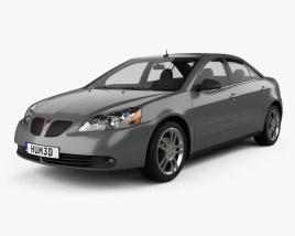 Pontiac G6 V6 2006 3D model