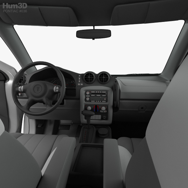 pontiac aztek with hq interior 2005 3d model hum3d. Black Bedroom Furniture Sets. Home Design Ideas