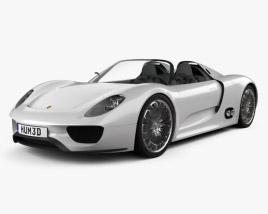 Porsche 918 spyder 2011 3D model