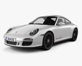 Porsche 911 Carrera GTS Coupe 2011 3D model