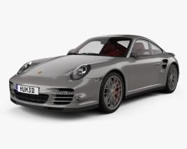 Porsche 911 Turbo Coupe 2011 3D model