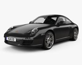 Porsche 911 Carrera Black Edition Coupe 2011 3D model
