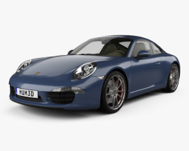 Porsche 911 Carrera S Coupe 2012 3D model