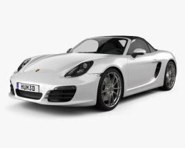 Porsche Boxster 981 2013 3D model
