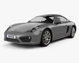 Porsche Cayman 2013 3D model