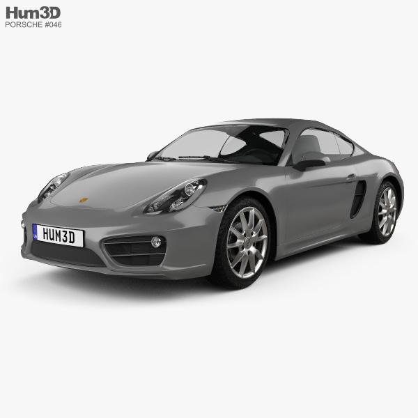 2012 Porsche Cayman Camshaft: Porsche Cayman 2013 3D Model