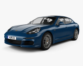 Porsche Panamera 4S 2014 3D model