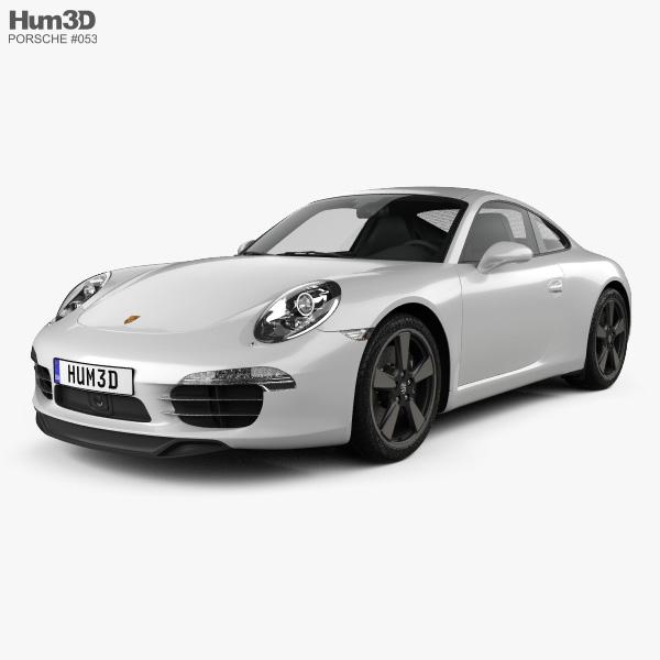 Porsche 911 (991) Carrera 50th Anniversary Edition 2013 3D
