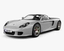 Porsche Carrera GT (980) 2004 3D model