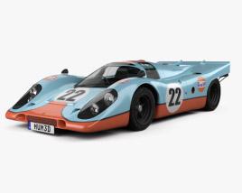 Porsche 917 K 1969 3D model