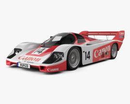 Porsche 956 C 1984 3D model
