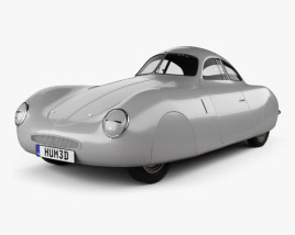 Porsche Type 64 1939 3D model