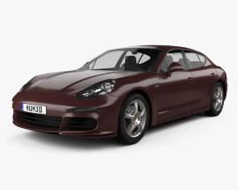 Porsche Panamera 2014 3D model