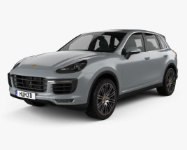 Porsche Cayenne Turbo 2014 3D model