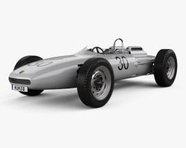 Porsche 804 1962 3D model