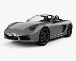 Porsche 718 Boxster 2016 3D model