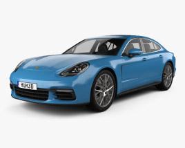 Porsche Panamera 4S 2016 3D model