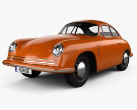 Porsche 356 Coupe 1948 3D model
