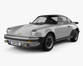 Porsche 911 Turbo (930) 1974 3D model