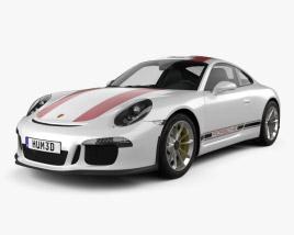 Porsche 911 R (991) 2017 3D model