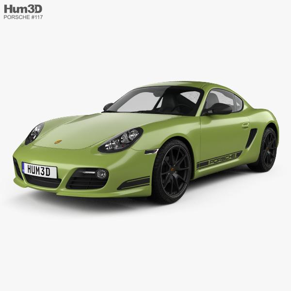 Porsche Cayman: Porsche Cayman R (987C) 2010 3D Model