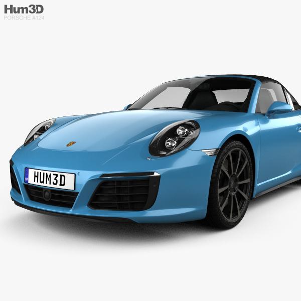 Porsche 911 Targa: Porsche 911 Targa (991) 4S 2016 3D Model